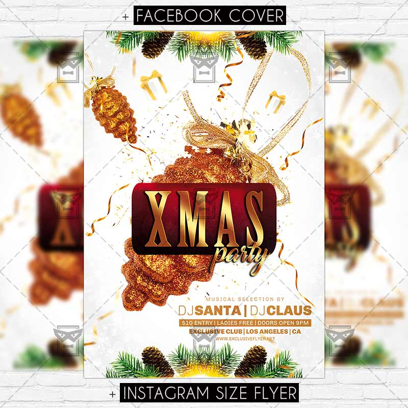 Download Free Xmas Party – Premium Flyer Template