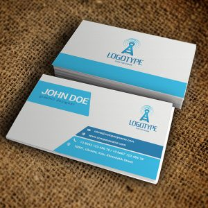Corporate Sapphirine Business Card - Premium Business Card Template-1