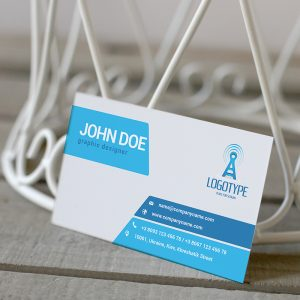 Corporate Sapphirine Business Card - Premium Business Card Template-2