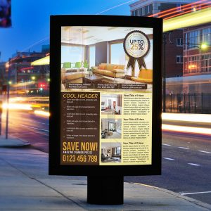 Realtor Business Flyer - Premium PSD Flyer Template-2