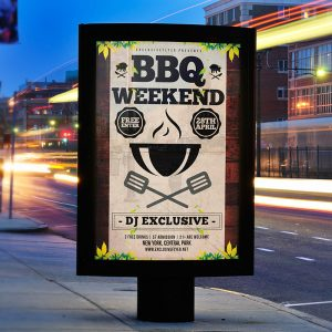 Barbecue - Premium Flyer Template + Facebook Cover-2