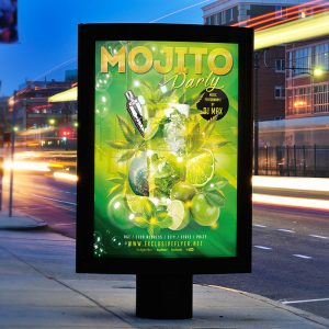 Mojito Night - Premium Flyer Template + Facebook Cover-2