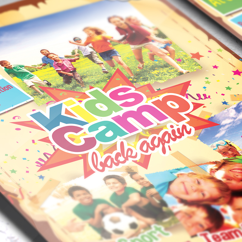 Kids summer camp premium business flyer psd template kids summer camp premium business flyer psd template 3 accmission Image collections