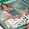 Back To School Party - Premium Flyer Template + Facebook Cover-3