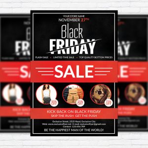 Black Friday - Premium Flyer Template