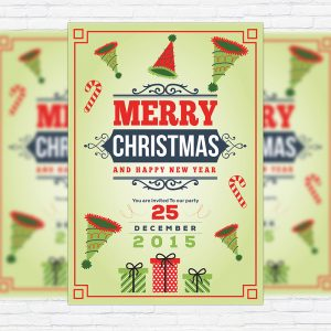 Happy Christmas - Premium Flyer Template
