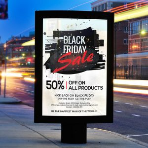 Black Friday Sale - Premium Flyer Template