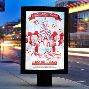 Christmas - Premium Flyer Template + Facebook Cover