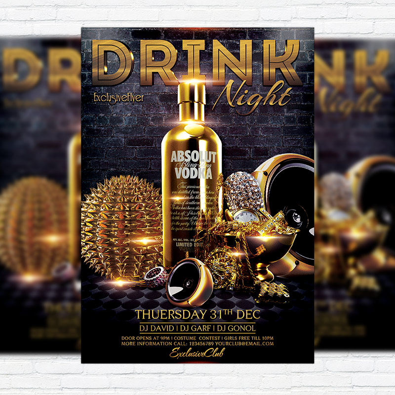 15 Excellent Flyer Templates For Your Next Event: Premium Flyer Template + Facebook Cover