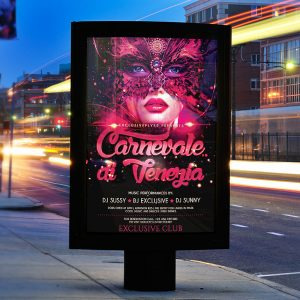 Carnival - Premium Flyer Template + Facebook Cover