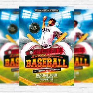 Baseball - Premium Flyer Template