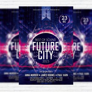 Future City - Premium PSD Flyer Template