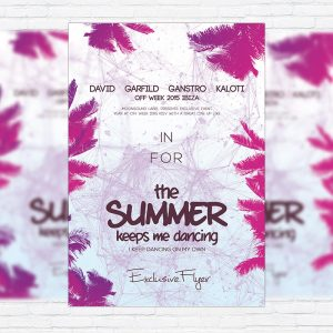 The Summer Vol.2 - Premium Flyer Template + Facebook Cover