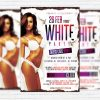 White Party - Premium PSD Flyer Template