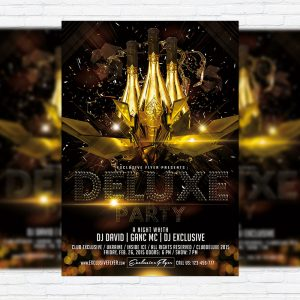 Deluxe Party - Premium PSD Flyer Template