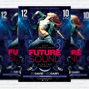 Future Sound - Premium PSD Flyer Template