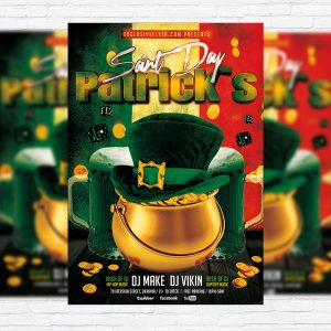 Patrick's Saint Day - Premium PSD Flyer Template