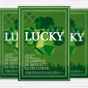 St. Patrick's Day - Premium PSD Flyer Template
