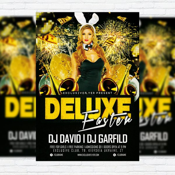 Deluxe Easter Party - Premium PSD Flyer Template