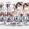King Of The Ring - Premium Flyer Template + Facebook Cover
