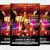 Fight Night - Premium PSD Flyer Template