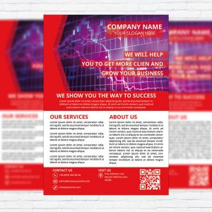 Corporate Services - Business Flyer Template