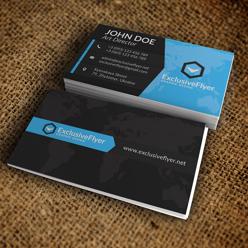 simple business card premium business card template