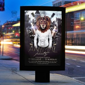 animal-party-premium-flyer-template-facebook-cover-3