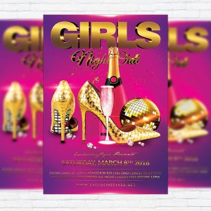 girls-night-out-premium-flyer-template-facebook-cover-1