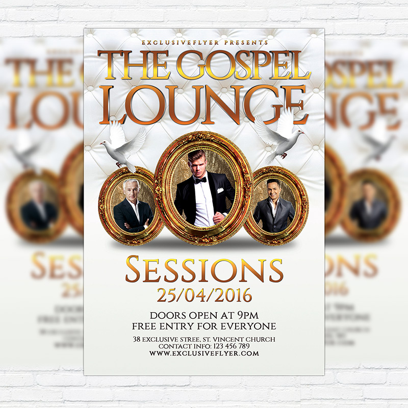 Lounge Flyer Template. Vip Card Vip Party Entry Flyer Poster