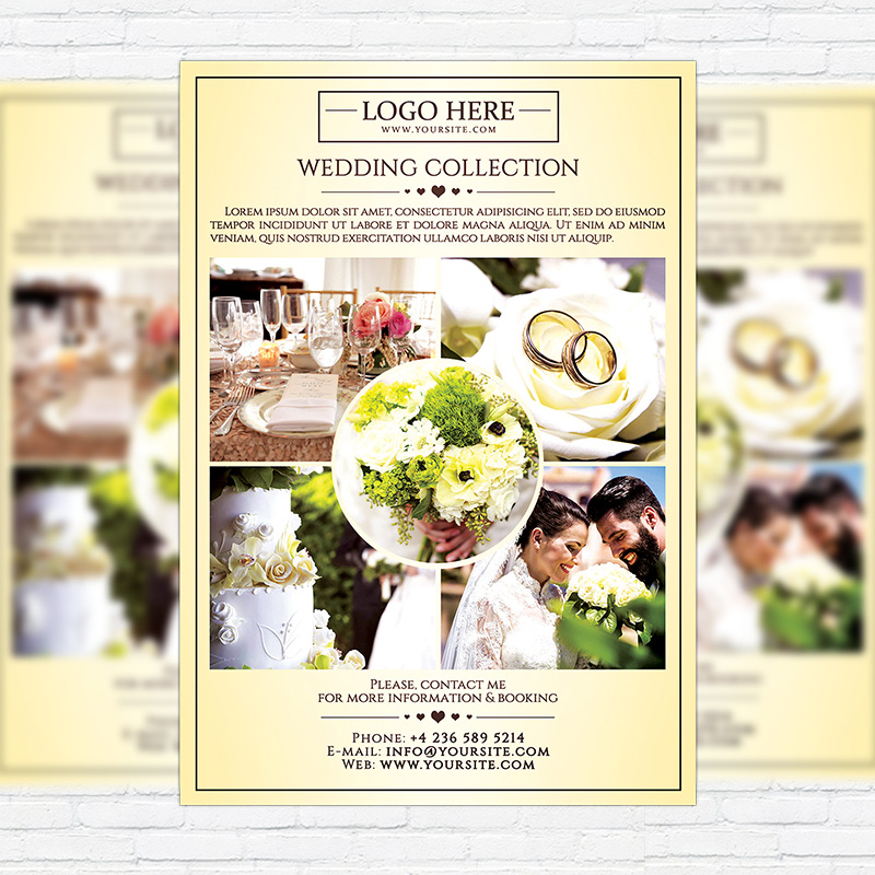 Wedding Photography  Premium Flyer Template  Exclsiveflyer  Free