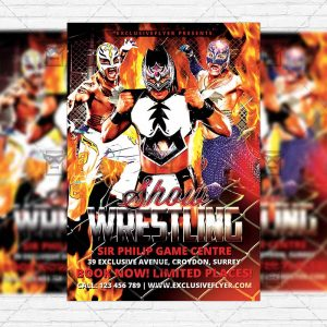 wrestling-show-premium-flyer-template-facebook-cover-1