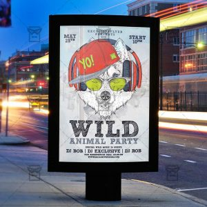 animal_wild_party-premium-flyer-template-instagram_size-3
