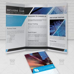 Corporate - Premium Tri Fold Brochure Template-2