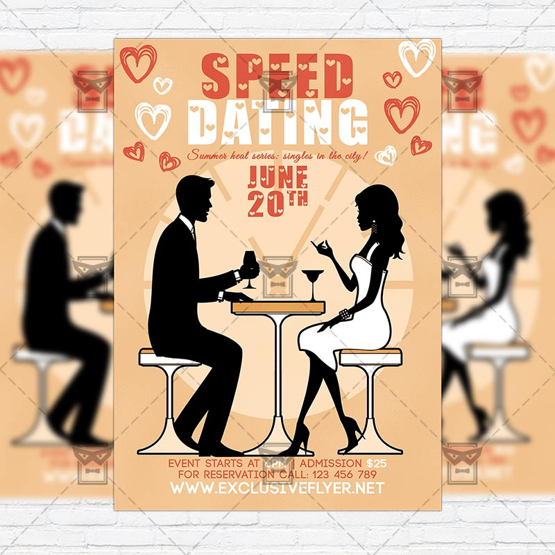 Speed dating supplies