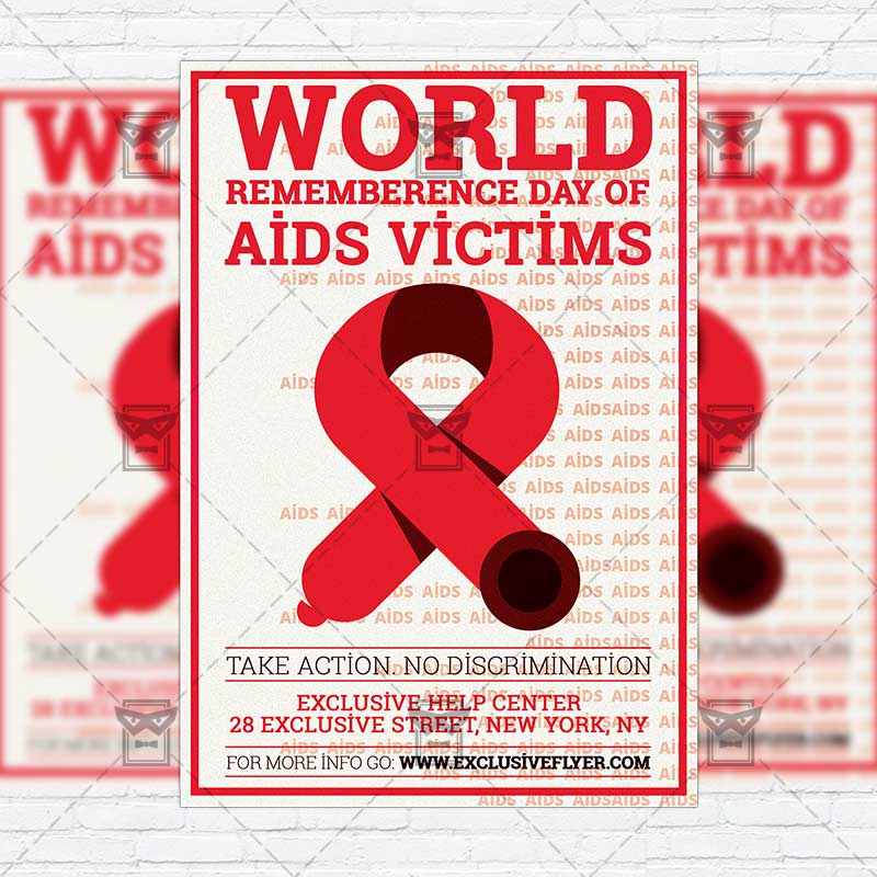 world_remembrance_day_of_aids_victims premium flyer template instagram_size 1 world_remembrance_day_of_aids_victims premium flyer template instagram_size 1