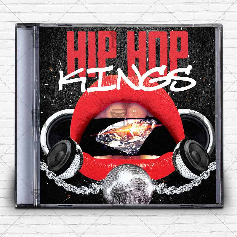 Hip Hop Music – Premium Mixtape Album Cd Cover Template
