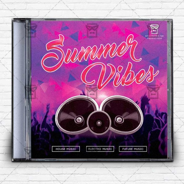 summer_vibes-free-mixtape-album-cd-cover-template-1