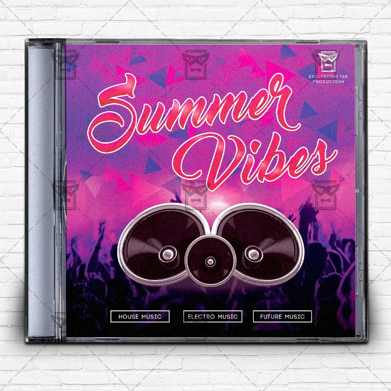 Summer_vibes Free Mixtape Album Cd Cover Template 1. Summer_vibes Free  Mixtape Album Cd Cover Template 1
