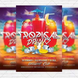 tropical_drinks-premium-flyer-template-instagram_size-1