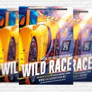 wild-race-premium-flyer-template-instagram-size-flyer-1