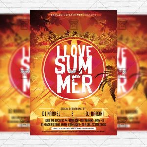 i-love-summer-premium-flyer-template-instagram-size-flyer-1