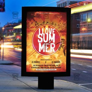i-love-summer-premium-flyer-template-instagram-size-flyer-2