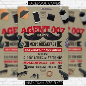 agent_007_party-premium-flyer-template-1