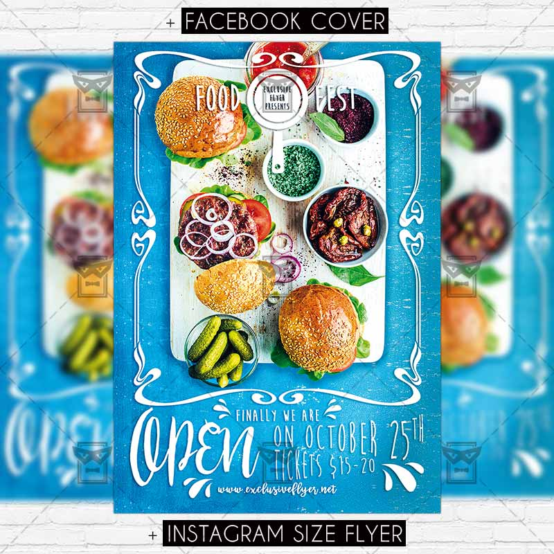 Food Festival  Premium Psd Flyer Template  Exclsiveflyer  Free