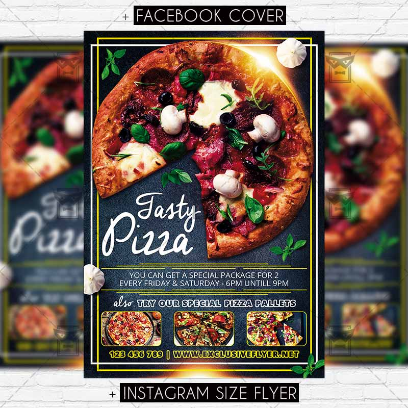Pizza Promo Premium Psd Flyer Template Exclsiveflyer Free And