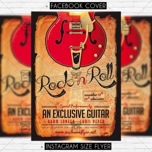 rock'n'roll-premium-flyer-template-1