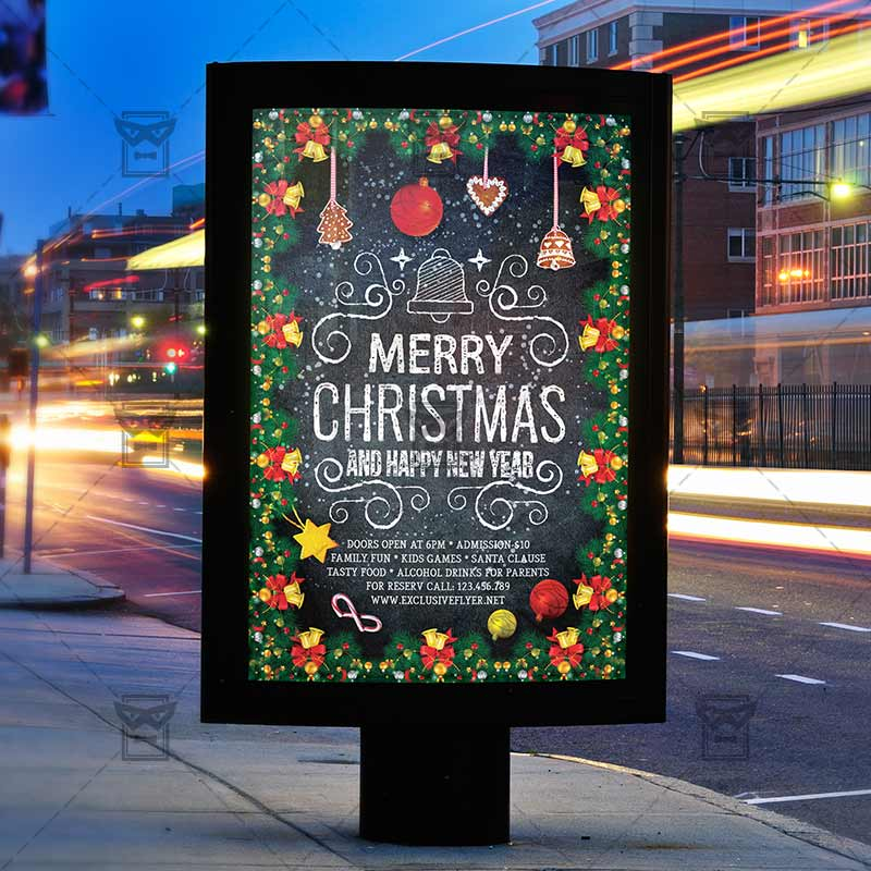 Christmas Abstract Background Greeting Merry Happy Xmas Holiday Toy