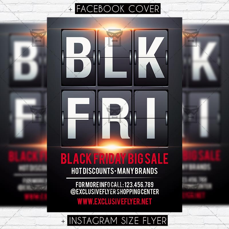 Download Black Friday – Premium PSD Flyer Template