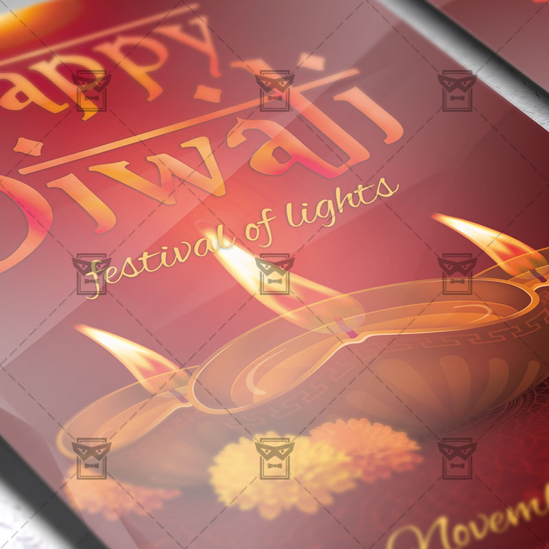 happy diwali premium psd flyer template exclsiveflyer free and
